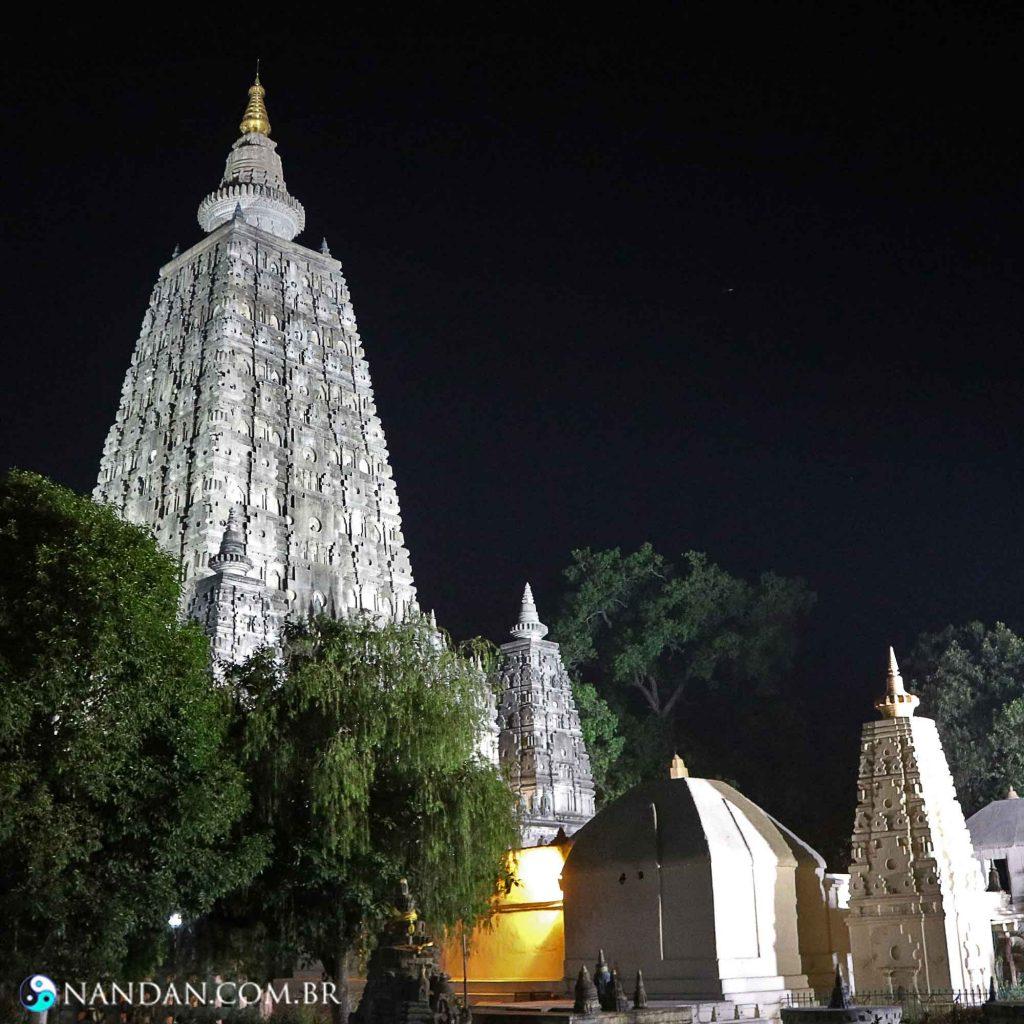Templo Maha Bodhi - local de iluminação do Buda